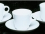 Porcelain Tea Cups & Saucers