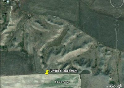 "Photo shows the symbolic representation for a gold mine with the curl on the bottom of the ""7"""