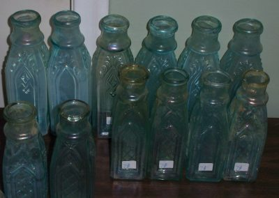 Cathedral Pickle Bottles 1865