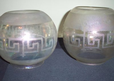 Cape Cod Glass Company  Carriage light globes (Greek Style)