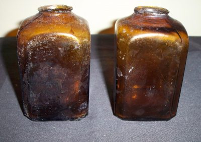 Snuff Jars J.J. Mapes 61 Front St. New York