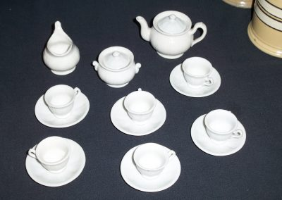 William Adams IV Toy Tea Set