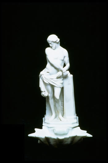 German Thuringia Religious Statue 1864 SOLD