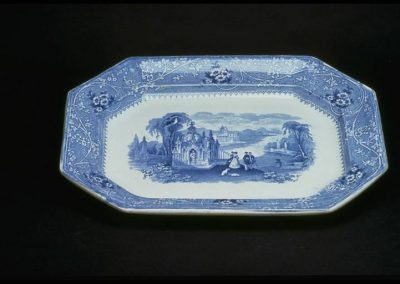 William Adams IV Platter Columbia Series, Staffordshire