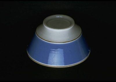 William Adams IV Blue Serving Bowl