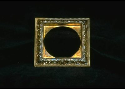 1865 Brass Picture Frame