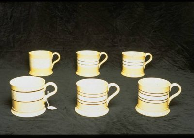 William Adams IV Mochaware mugs
