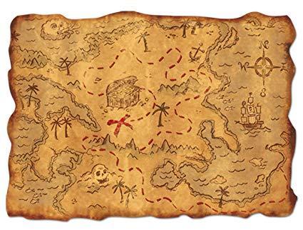 tresure map